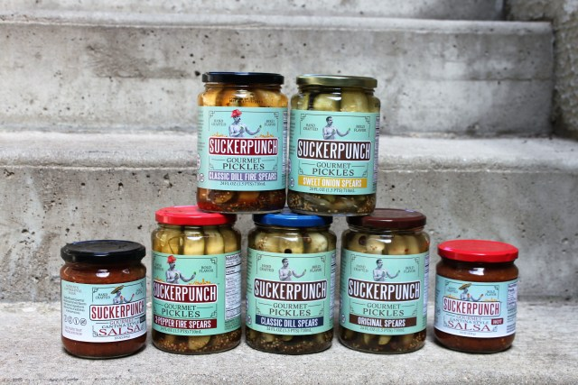 suckerpunch gourmet pickle giveaway
