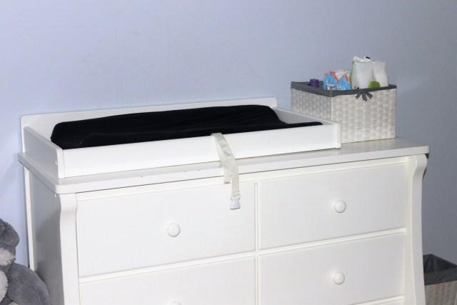 Our nursery dresser