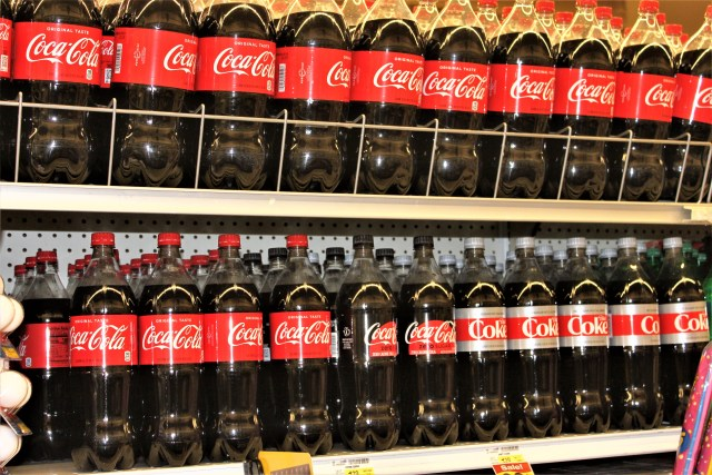 Coca-cola products available at Jewel-Osco
