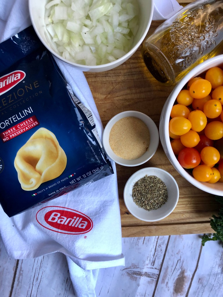Barilla® Collezione 3 Cheese Tortellini collection is a more porous pasta, which holds sauce really well. Just like a restaurant style dinner at home!