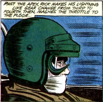 Grand Prix Comics Panel