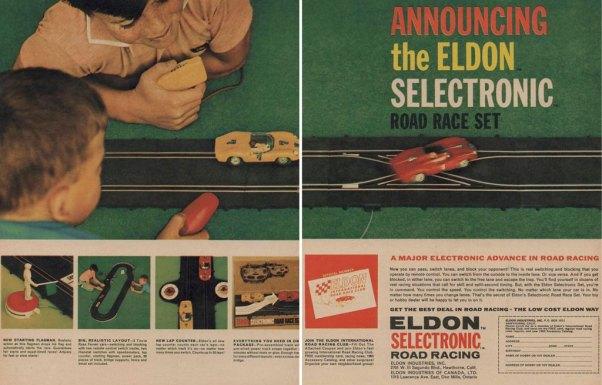 Eldon Selectronic Slot Cars Ad
