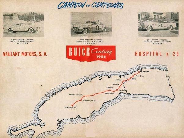 1956 Carrera Pinar del Rio Program