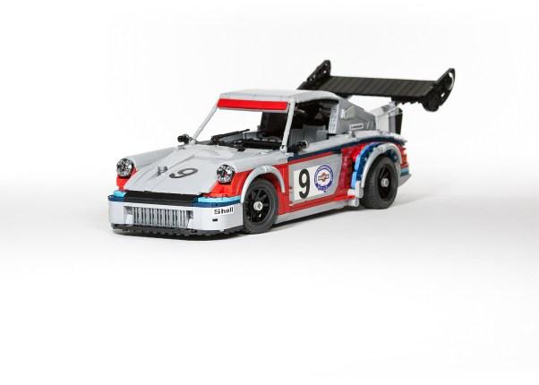 Malte Dorowski's Lego Martini Porsche 911 Carrera RSR