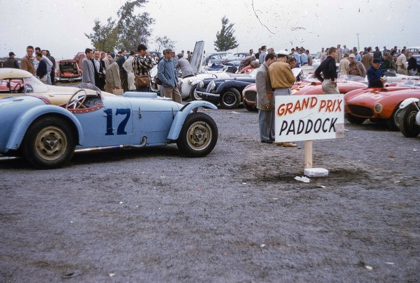 1954 Watkins Glen Paddock by Jack Holliday