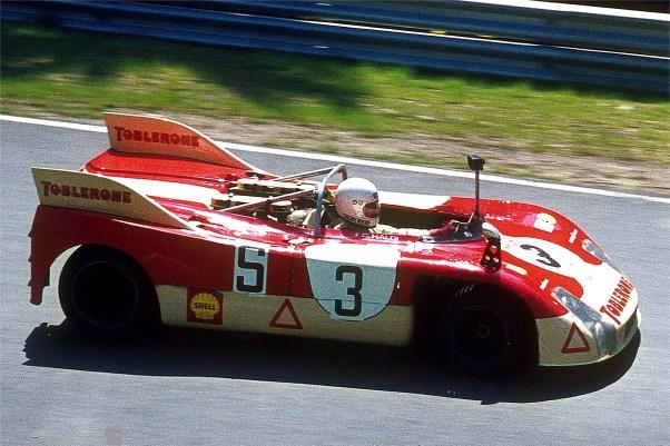 Porsche908-3 of Bernard Chenevière and Claude Haldi - 1973 Targa Florio
