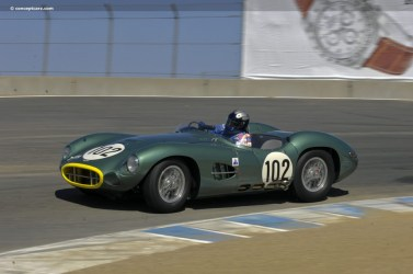 1957 Aston Martin DBR2 at Speed