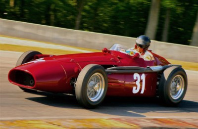 Peter Gidding's Maserati 250F at Road America