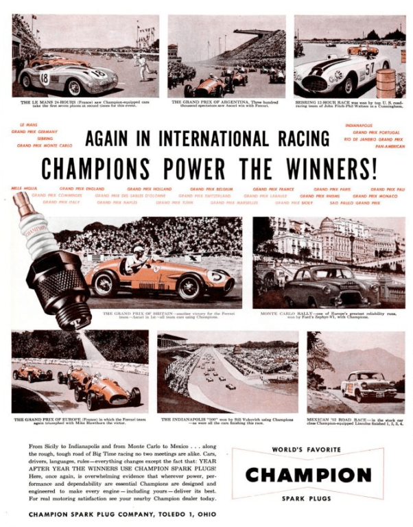 Champion Powers the Winners