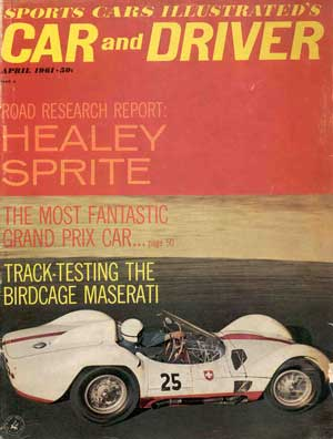 Car and Driver Maserati Cover
