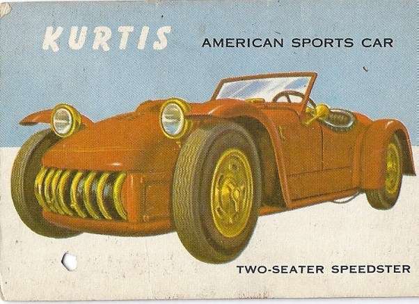 Topps World on Wheels: Kurtis