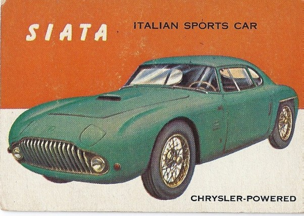 Topps World on Wheels: Siata