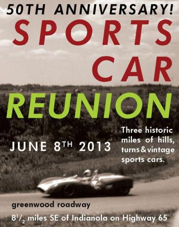 Greenwood Sports Car Reunion - June 8, 2013