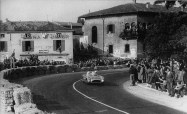Moss and Jenks in the '55 Mille Miglia