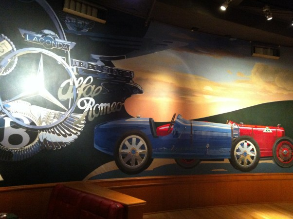 Mural at Clyde's of Chevy Chase