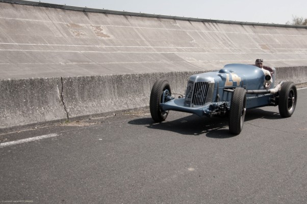 1932 Graham 8 Lucenti Indy car at the Montlhery Revival