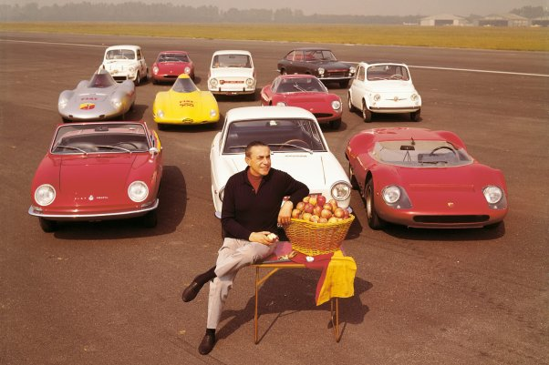 Carlo Abarth and a fleet