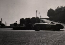 Jaguar C-Type at the 1955 Gran Prix d'Agadir