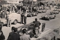 2 Liter grid at the 1955 Gran Prix d'Agadir