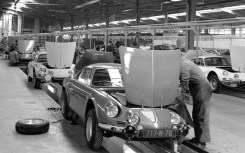 Alpine-Renault A110 assembly line