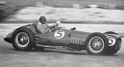 José Froilan Gonzalez. BRM. 1952 Woodcote Trophy. Goodwood.