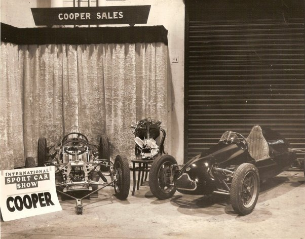 Cooper exhibition stand