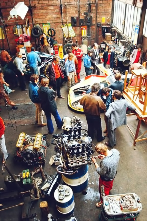 1972 Porsche LeMans Garage