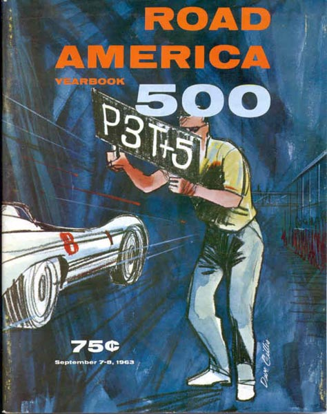 1963 Road America Program Cover