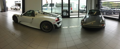 Porsche 918 and Singer 911 - The Minnesota Car