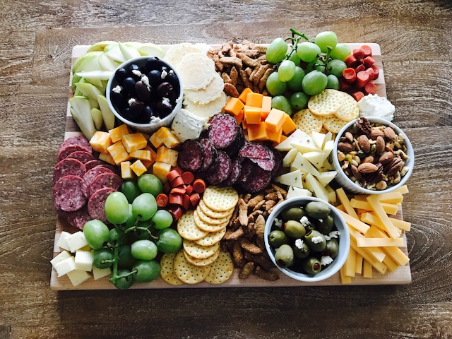 & Getting Fancy with Charcuterie - The Chic(ish) Chick