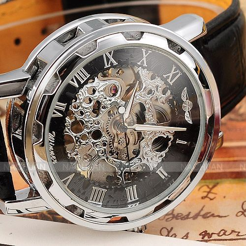 Fashion Mechanical Automatic Skeleton Watches