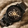 Creative Black Wristwatch