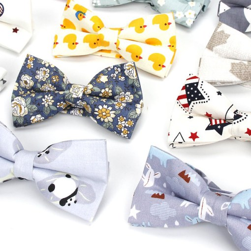 Men Bowtie 100% Cotton