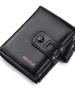 Wallet with Double Zipper