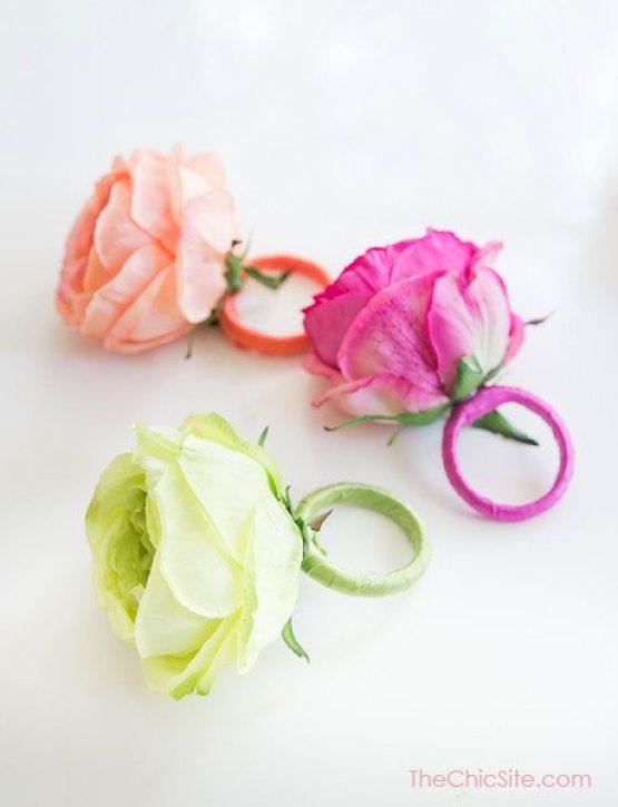 Silk Flower Craft, Roses