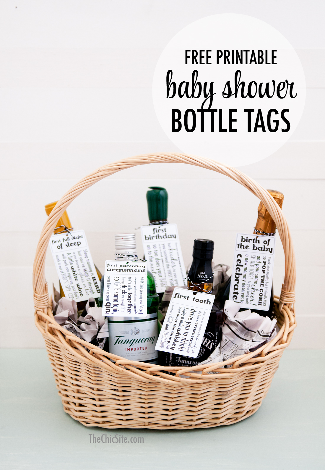 Baby Shower T Tags