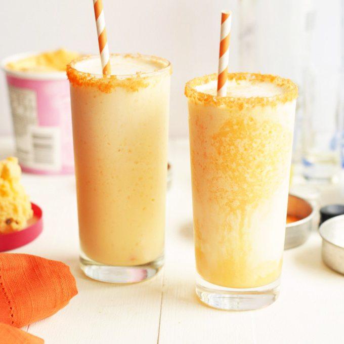 orange creamsicle cocktails