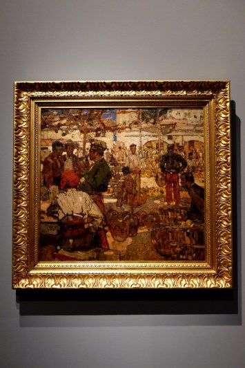 Market Place by Frank Brangwyn Photo: Olivia Deng