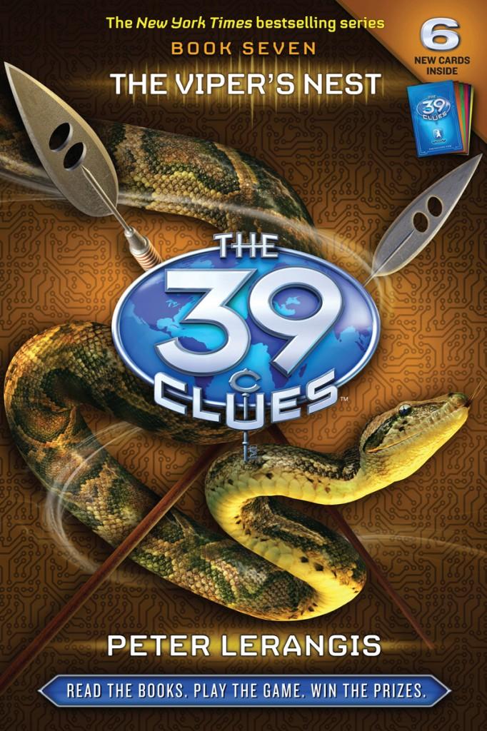 The 39 Clues Blog Tour Access Granted, Peter Lerangis