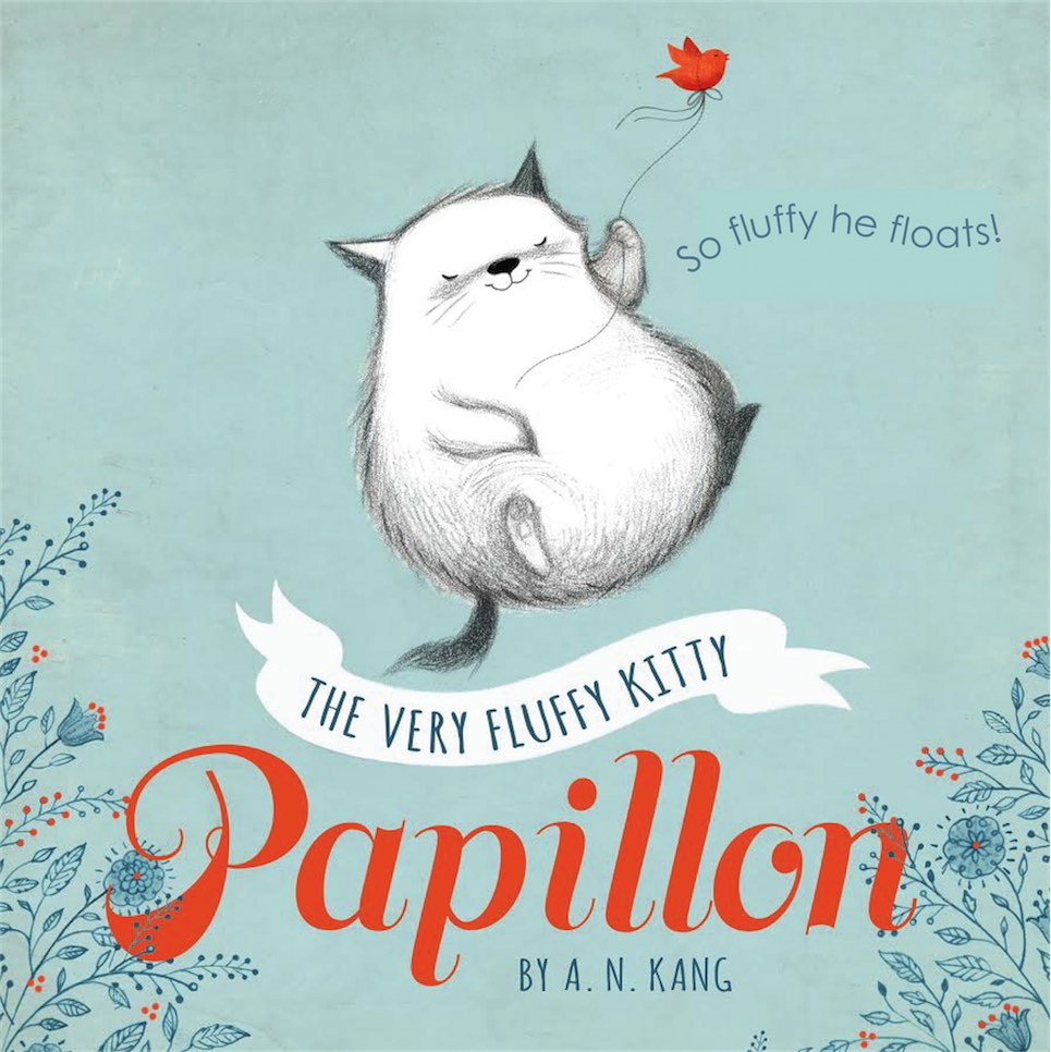 The Very Fluffy Kitty, Papillon, By An Kang The