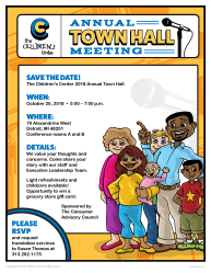 Annual Town Hall Meeting The Children s Center