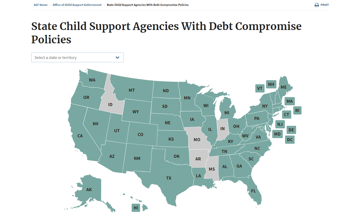 States Need To Erase Permanently Assigned Child Support