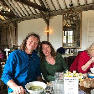 Lunch at Chenies Manor