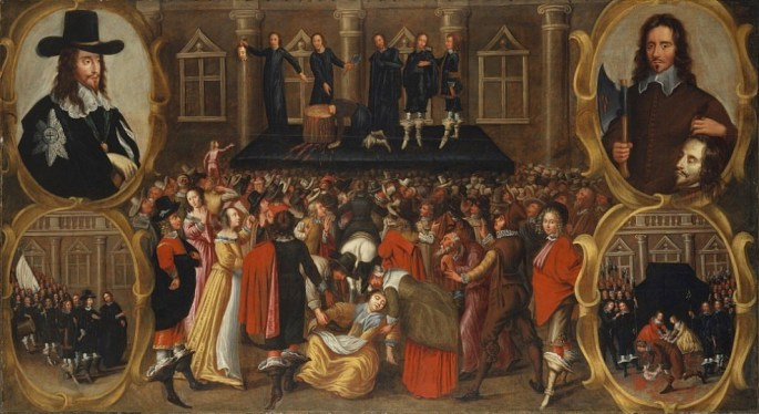 The Execution of Charles I of England
