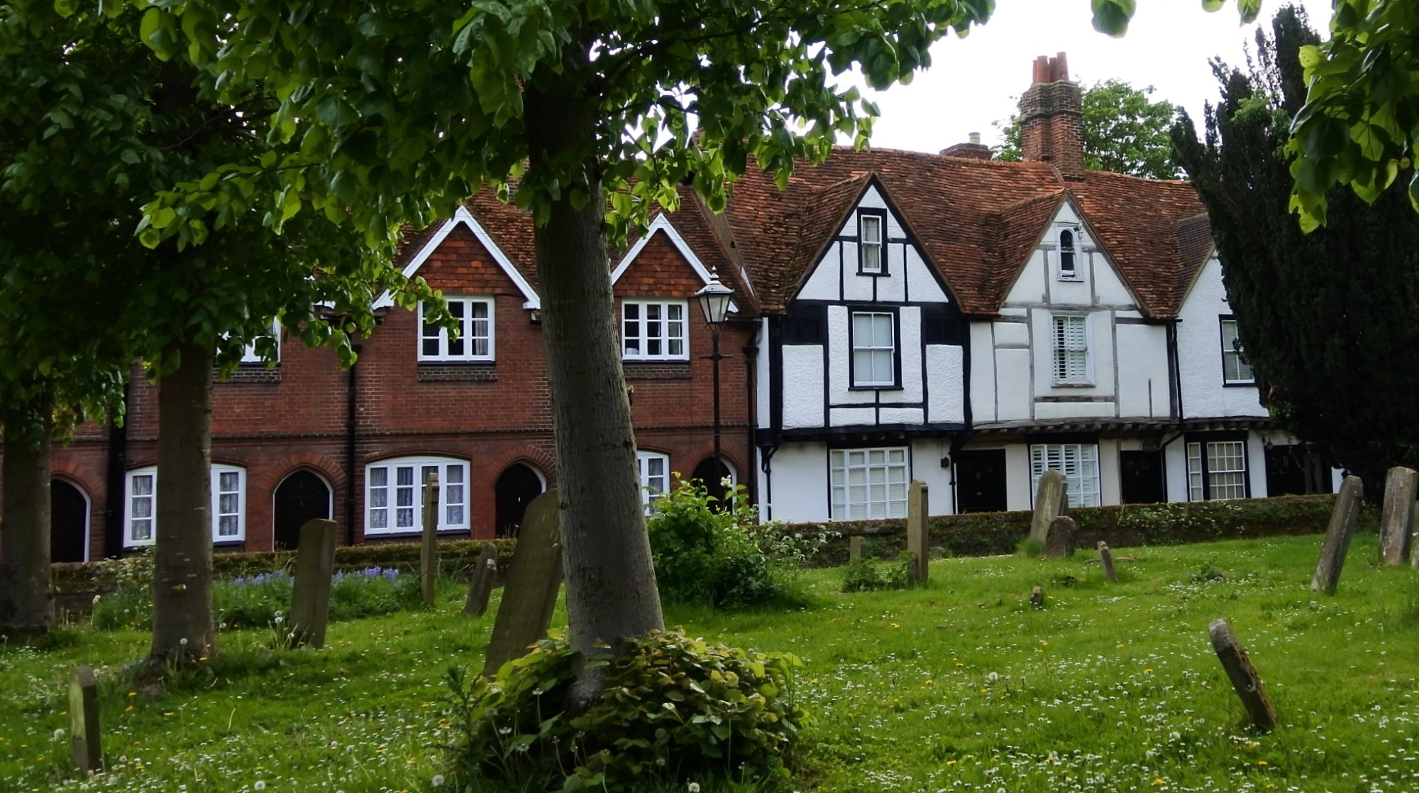 The almshouses of the Chilterns