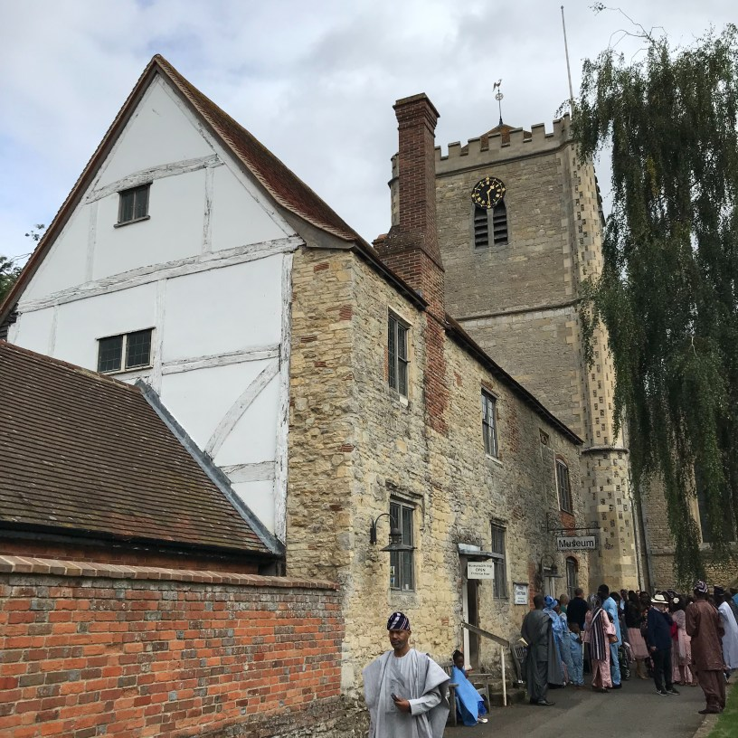 A wedding at Dorchester Abbey