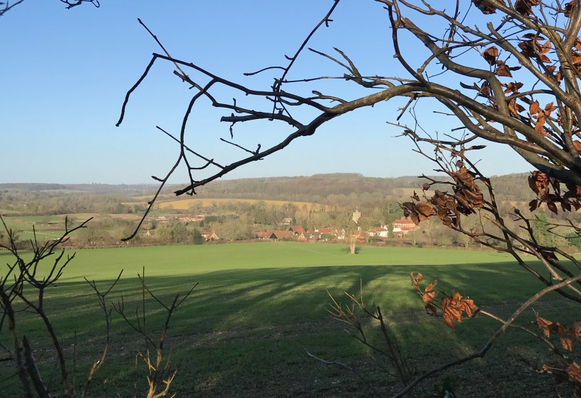 Views back towards Little Missenden