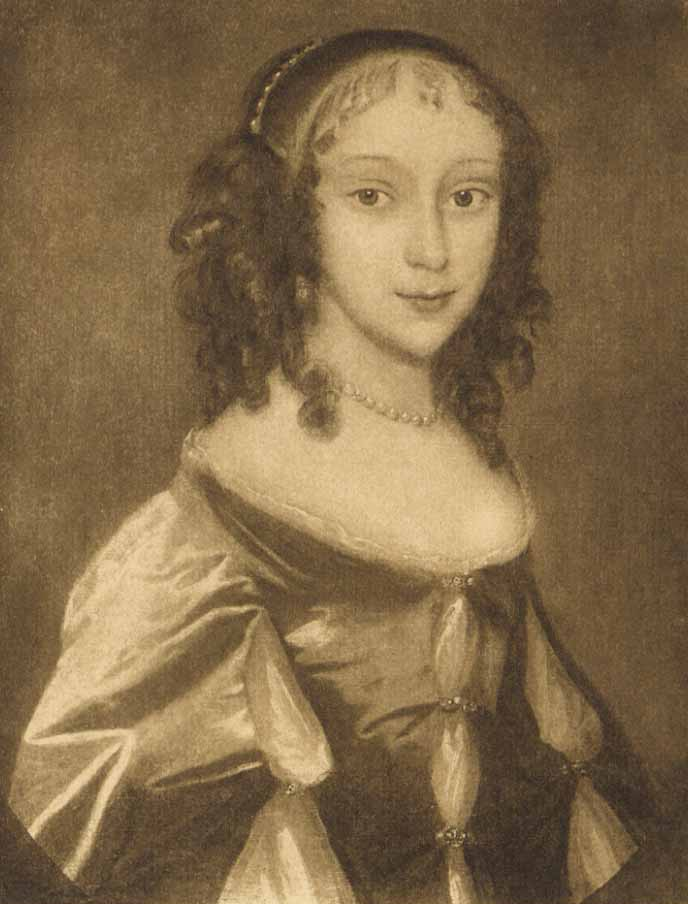 Portrait of Katherine Ferrers, wicked lady of Markyate Cell