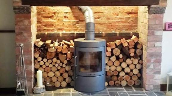 Feature-Fireplace Log Burner Home