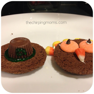 No Bake Thanksgiving Cookies